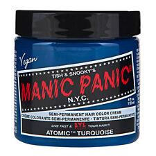 Manic Panic Classic Hair Dye Color - Atomic™ Turquoise Vegan 118ml Manic-panic