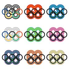 """MEXICO68 Poster MEXICO 1968 Olympic Games 9-Color Wyman Archival Print 24"""" x 24"""""""