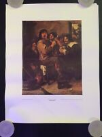 "Vintage ""The Smokers"" by Adriaen Brouwer Poster - Metropolitan Museum of Art"