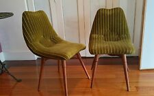 VINTAGE Grant Featherston chairs (pair) -original items with Featherston Plaque