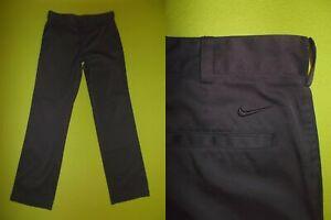 Pants NIKE Golf (W30 / L32) (M) DRI-FIT PERFECT Trousers GOLF Black