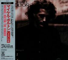 MICHAEL BOLTON The Hunger FIRST JAPAN CD OBI 32DP 887 Neal Schon Jonathan Cain