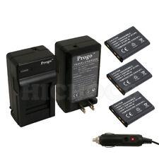 3 Battery+Charger For Nikon EN-EL10 COOLPIX S570 S60 S600 S700 S3000 S4000 S5100