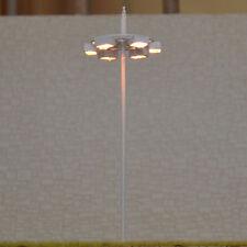 10 x OO / HO scale Model Lamp Plaza Lamppost Street Light 6V + resistor for 12V