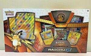 Pokemon Shining Legends Special Collection Box Raichu GX Set - Qty Available