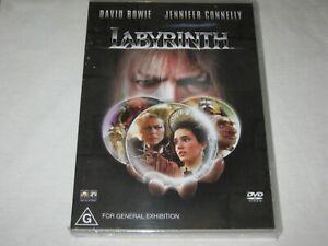 Labyrinth - David Bowie - Brand New & Sealed - Region 4 - DVD
