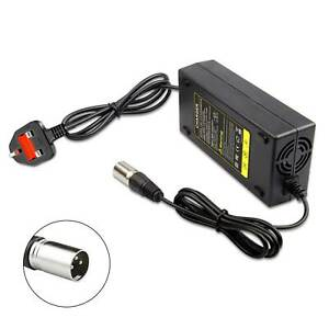 48V-54.6V 2A Lithium Battery Charger for E-Bikes Golf Trolleys Wheelchairs