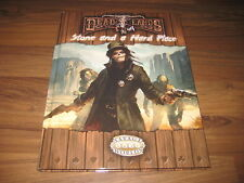 Deadlands Kaiba! Stone and a hard place Pinnacle HC Savage Worlds Neuf New