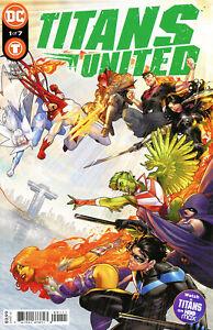 TITANS UNITED #1 CVR A  DC  COMICS  2021  STOCK IMG