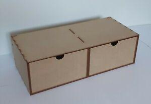 Solution de Rangement tiroirs profonds 2 deep drawers Hobby  warhammer 40k GW