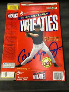 Cal Ripken Jr. Wheaties Box 1996 Flat