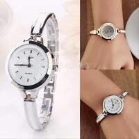 Fashion Elegant Ladies Dress Bracelet Stainless Steel Quartz Wrist Watch BA