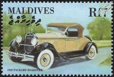 1929 PACKARD Super 8 Roadster Mint Automobile Car Stamp (2000 Maldives)