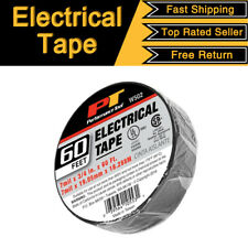 "Wilmar Electrical Tape Black 3/4"" x 60 Ft Insulated Electric 7mil x 19mm x 18m"