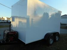 """Refrigerated Walk In Cooler Trailer Custom 2020/12 X 7 X 7 /5"""" Insulated All"""