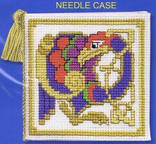 Celtic Bird Needle Case Cross Stitch Kit By Textile Heritage