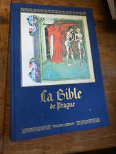 la bible de prague - erlande Brandeburg - éditions philippe Lebaud 1989