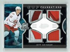 12-13 UD The Cup Foundations  Jeff Skinner  /10  Quad Patches