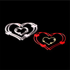 2pcs/set Love Heart Metal Cutting Dies Stencils for DIY Cards Scrapbooking BH