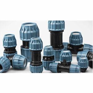 Jason PP-Fitting Verschraubung PE-Rohr Trinkwasser DVGW Klemmverbinder