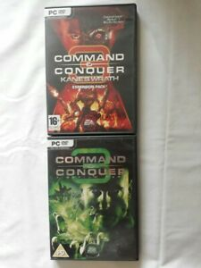 Command and conquer 3 Tiberium Wars Kane Edition & Kane Wrath Expansion pack PC