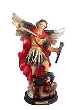 """12"""" Archangel Michael Miguel Statue Figurine Figure Religious San Saint Santo"""