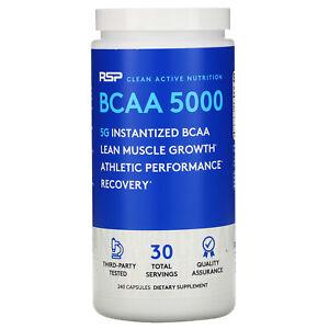 BCAA 5000, Instantized BCAAs, 240 Capsules