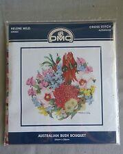 Australian Bush Bouquet cross stitch kit by Helene Wild 24 x 25cm 16ct advanced