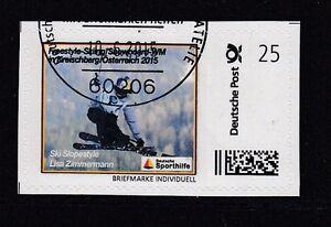 D. Briefmarke Individuell   Ski Slopestyle  Lea Zimmermann  oo