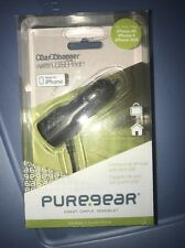 IPhone 4/4s PureGear Car Charger With USB Port