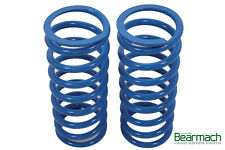 Land Rover Defender 90 Heavy Duty 45mm Lift Bearmach Blue Front Coil Springs