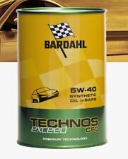 Olio motore per auto Bardahl Technos C60 Exceed 5W-40 Synthetic Oil mSaps 309040