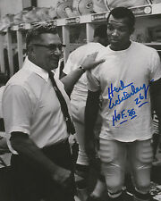 """HERB ADDERLEY Autographed Signed 8"""" x 10"""" Photo w LOMBARDI Green Bay Packers COA"""