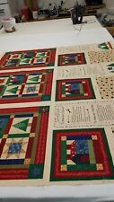 Fabric destash Make Your Little Quilt 3 Panels Designed By Little Quilts For Fab