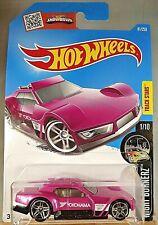 2016 Hot Wheels #81 Night Burnerz 1/10 DRIFTSTA Pink w/Chrome Pr5 Spoke Wheels