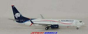 NEW: 1:400 NG MODELS AEROMEXICO BOEING B 737-800 XA-AMV MODEL 58090