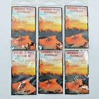 6 X Packets Enterprise Tackle Adjuster-Link - Carp Course Fishing - Size Small