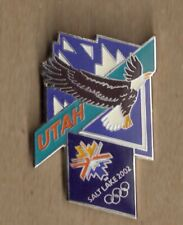 2002 Salt Lake City Olympic Pin Eagle
