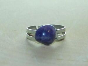 Natural Amethyst Crystal Handmade Adjustable Ring