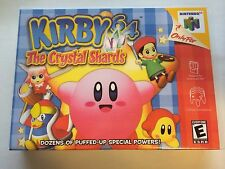 Kirby 64 The Crystal Shards - Nintendo 64 - Replacement Case - No Game