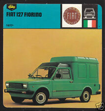 1977-1978 FIAT 127 FIORINO Truck Car Picture Photo CARD
