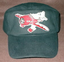 Hat With GEE BEE Airplane Aircraft Embroidered Emblem Low Profile Black Hat R/C