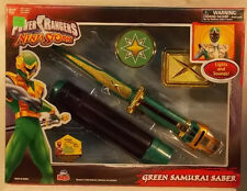 Power Rangers Ninja Storm - Green Samurai Saber w/Lights & Sounds Bandai (MISB)