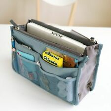 Dual Bag in a Bag Organizer Pouch Mesh travel cosmetic