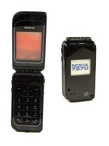 NOKIA 7270 black Klapp Handy Dummy mit Wackelbild Spielzeug Handy Attrappe