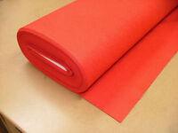 2 Yrd Red Baize / Felt Craft Fabric Card Poker Table