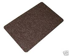 BNew Door Mat Polypropylene Doormat  80cm x 50cm Brown