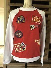 Walt Disney World Ladies Varsity Style Sweatshirts Size Medium RB-A1-5