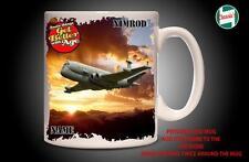 Personalised NIMROD RAF  PLANE Mug Cup Dad Custom Gift - Add Name