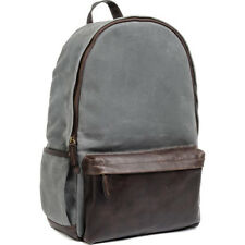 NEW ONA THE LEATHER CLIFTON CAMERA AND EVERYDAY BACKPACK SMOKE DSLR LENSES BAG